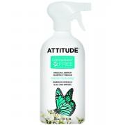 Solutie bio de curatat geamuri si oglinzi coaja de citrice Attitude 800 ml