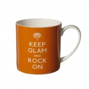 """Cana de portelan """"Keep Glam and Rock On """""""