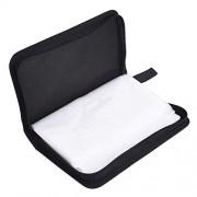 AST Works 80 CD DVD Nylon Car Black Carry Case Disc Storage Holder Sleeve Wallet Bag Gift