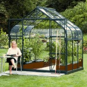 Vitavia Saturn 5000 8 x 6 Greenhouse - Green
