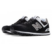 New Balance Men's 574 Classics Black with Grey White