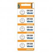 Батерия Vinnic CR1220, 3.0V - комплект 5 батерии