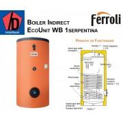 Boiler cu o serpentina Ferroli ECOUNIT 1000-1 WB 1000 litri