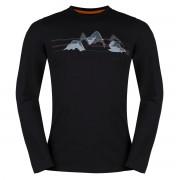 ZAJO   Bormio T-shirt LS L Black - Mountains