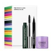 High impact máscara black 7ml+take the day off 15ml+quickliner intense ebony 14g - Clinique