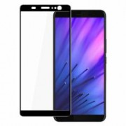 Folie protectie pentru HTC U11 Plus din sticla securizata full size negru