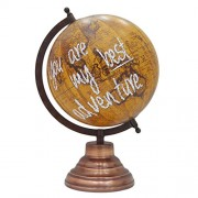 Entice Selections Globe - Unique decorative antique World globe - Map Of the World - Hand Made Globe - World Globe 8 inch - Perfect Globes for Students and Kids - Large Size Political Globe - Decorative Gift item for Home and Office - Gifts for boss- Trav