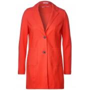cecil Lange blazer met reverskraag (Oranje)