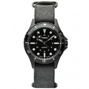 Timex Navi Harbour Stone Washed Leather Black