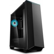 "Carcasa CARCASA DeepCool Middle-Tower ATX, 2*120mm (incluse), 2* RGB LED Headers, RGB Color LED strip, tempered glass, I/O panel iluminat 1x USB3.0, 1x USB 2.0, black ""EARLKASE RGB v2"""