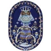 Iittala Taika serveringsfat oval 41 cm Blå