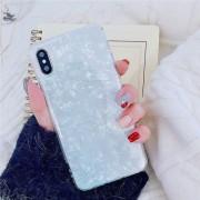 Luxury Shell kagylóhéj mintás szilikon iPhone tok - Fehér, 11 Pro
