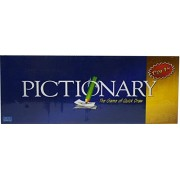 Happy GiftMart Pictionary Board Game Quick Sketches Crazy Guesses/Phrasing Party games for all ages