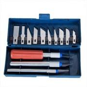 Magma Generic 16pcs Hobby Craft Razor Knife Blade Precise Cutter Set (A-82)