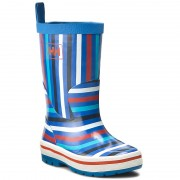 Cizme de cauciuc HELLY HANSEN - Midsund Graphic 111-50.535 Racer Blue/Off White/Navy/Cloudberry/Aqua Marine
