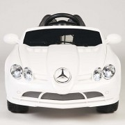Exclusive Ride On Car Mercedes Benz Mc Laren 722 Series, Toy/Car For Kids, Boys And Girls With Music, Lights, Remote Control White