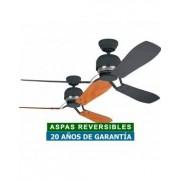 Hunter Ventilador De Techo Hunter 24545 Industrie Ii Grafito O Castaño/ Grafito