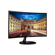 "Монитор - Samsung C24F390FHUX, 23.5"" CURVED VA LED, 4ms, 1920x1080, HDMI, D-SUB, 250cd/m2, Mega DCR, 178°/178°, Black High glossy"