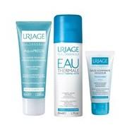 Pack aquaprésis gel creme hidratante 40ml + água termal 50ml + esfoliante 15ml - Uriage