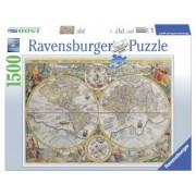 Puzzle 14Ani+ Harta istorica, 1500 piese