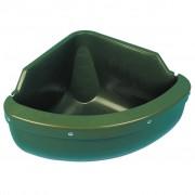Kerbl Corner Feed Bowl 31 L Plastic Green 32592