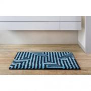 Grund Badteppich Aruba Grund Größe: 70 x 120 cm, Farbe: Blau