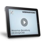 FRANZIS.de (ausgenommen sind Bücher und E-Books) Webinarvideo: Workshop - Bemaßung mit DesignCAD