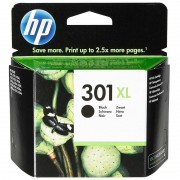 HP Original Tintenpatrone CH563EE (No.301XL), black XL