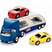 Transportor masini Little Tikes, albastru