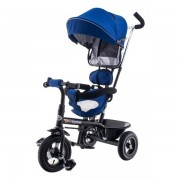 Tricicleta cu scaun rotativ EURObaby T306E-1- Albastru
