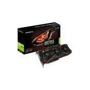 Placa de vídeo - NVIDIA GeForce GTX 1080 (8GB / PCI-E) - Gigabyte WINDFORCE 3X - GV-N1080WF3OC-8GD GIGABYTE