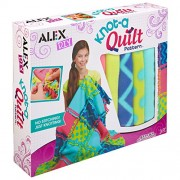 Alex Toys Craft Knot a Quilt Pattern Kit, Multi Color