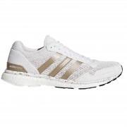 adidas Women's Adizero Adios Running Shoes - White/Black - US 6.5/UK 5 - White/Black