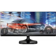"Monitor Gaming IPS LED LG 34"" 34UM58-P, Ultra Wide (2560 x 1080), HDMI, 5 ms (Negru)"