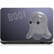VI Collections BHOOH IN WHITE DOLL pvc Laptop Decal 15.6