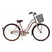 Explorer Cherry Blossom kontrás városi kerékpár Cappuccino