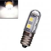 Meco E14 1W SMD 5050 White AC 220-240V Mini Bed Bulb LED Corn Light