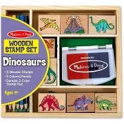 Fa pecsétek dobozban - Dino