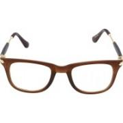 Poloport Wayfarer, Retro Square, Rectangular Sunglasses(Clear, Brown)
