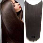 Flip in vlasy - 60 cm dlouhý pás vlasů - odstín 6 - Světové Zboží