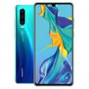 Мобилен телефон, Huawei P30 Aurora, ELE-L29 6.1 инча, FHD 2340 x 1080, Kirin 980 CPU, Octa-core. 6901443284610
