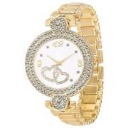 IDIVAS 116 Fashion Italian Golden Design Women Analog watch for Girls and Ladies Watch - For Women