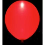 Svítící nafukovací balónek - červený