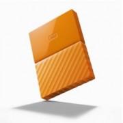"""4TB Western Digital My Passport WDBYFT0040BOR(оранжев), външен, 2.5"""" (6.35 cm), USB 3.0"""