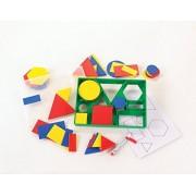 C&D 2D Shape Activity - Class / Nursery Set Circles, Triangles, Squares, Rectangles, Hexagons