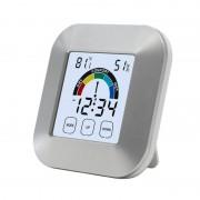 EAAGD Indoor Thermometer Vochtigheid Monitor Touchscreen Backlight Timer Smart Digitale Hygrometer Temperatuurmeter Vochtigheidsmeter