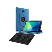 Etui obrotowe Samsung Galaxy Tab A 10.1 niebieskie +klawiatura