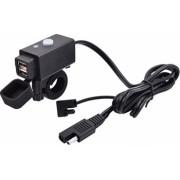 Priza moto Auto Road AR-0-181-01D DUAL USB 3.1 A