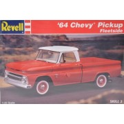Revell 64 Chevy Pickup Fleetside Model 7613 1:25 Scale by revelle