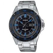 Casio Enticer Analog Black Dial Mens Watch - MTD-1078D-1A2VDF (A914)
